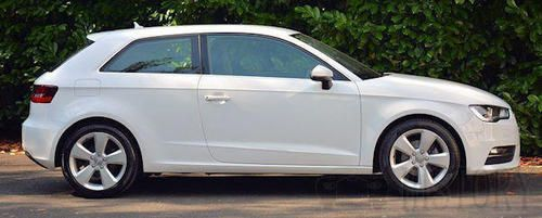 Audi A3 Third generation 3 door side view