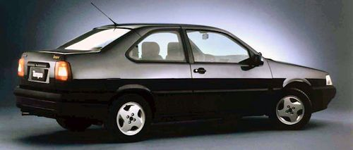 Fiat Tempra 2 door side view