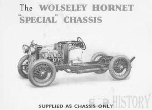 Wolseley Hornet chassis