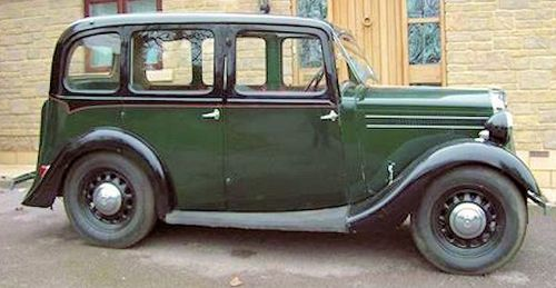 Wolseley Wasp side view