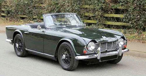 Triumph Triumph Tr4 1961 1965
