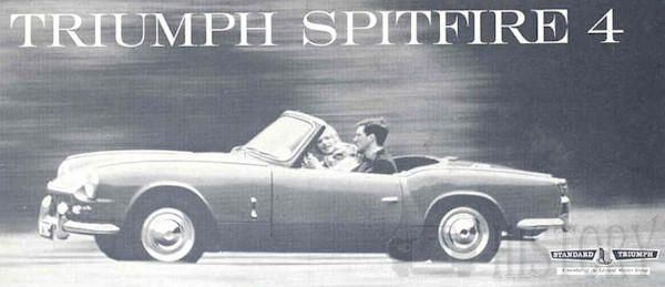 Triumph Spitfire Mark 1 side view