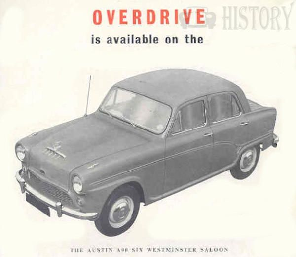 Austin A90 Westminster six overdrive