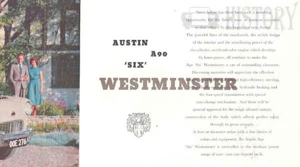 Austin A90 Westminster six 1950s cars