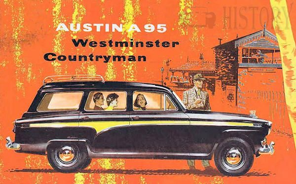 Austin A95 estate 1950s westminster