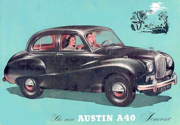 Austin Austin A40 Somerset 1952 1954