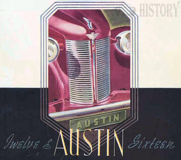 Austin 12 1939 to 1947  grill