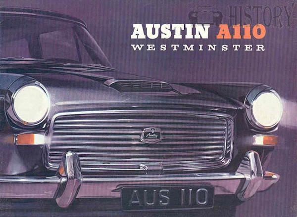Austin A110 Westminster 1960s history