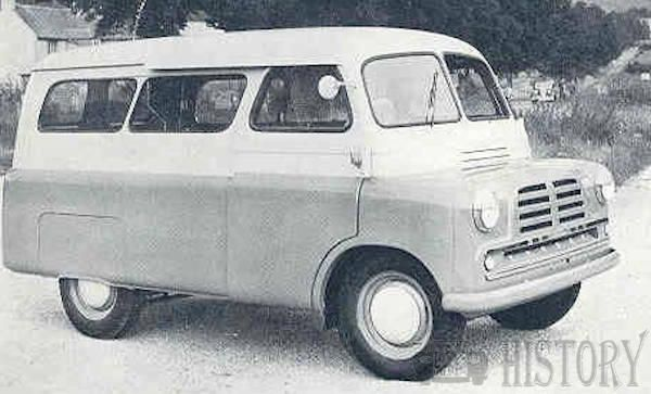 1956 Bedford CA split screen mk1