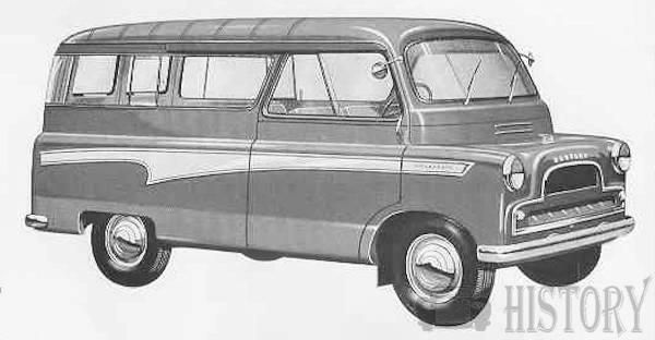 1959 Bedford CA bay window mk2