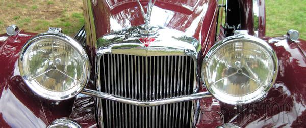 Alvis Speed 25 front close