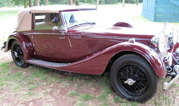 Alvis Speed 25 side view
