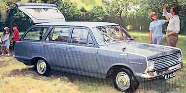 Vauxhall Victor FC Series estate