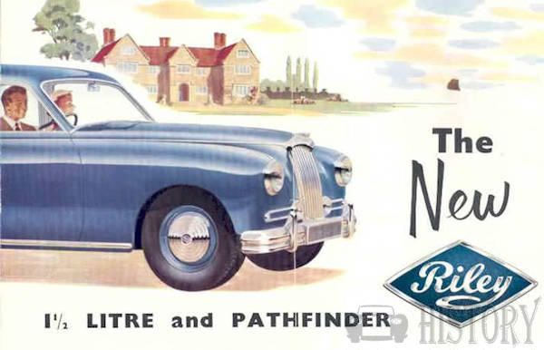 Riley Pathfinder history