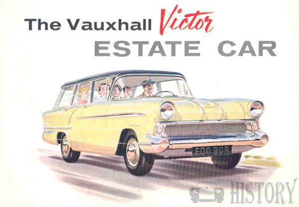 1958 Vauxhall Victor Estate