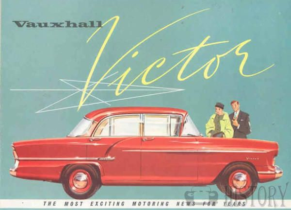 Vauxhall Victor history