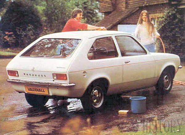Vauxhall chevette rear view