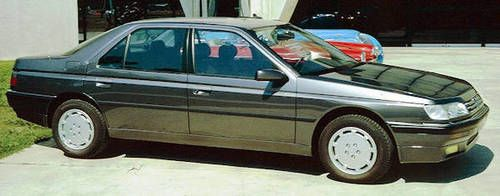 Peugeot 605 side view