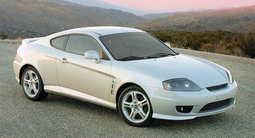 Hyundai Coupe Tiburon Second generation