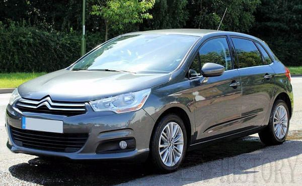 Citroën C4 Second generation range