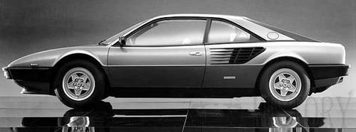 Ferrari Mondial 8 side view 1980