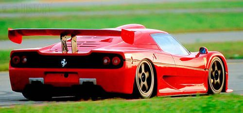 Ferrari F50 GT rear race