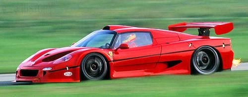 Ferrari F50 GT side view