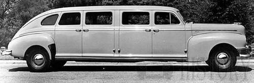 1947 Nash Stretch Limo