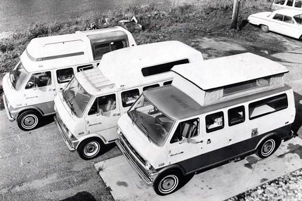 Campervan types and class history