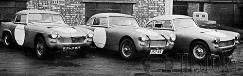 Austin-Healey sebring race cars