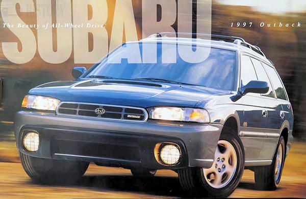 Subaru Outback First Generation