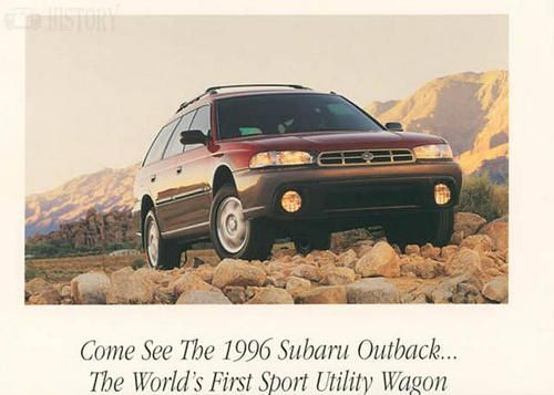 Subaru Outback First Generation sports utility