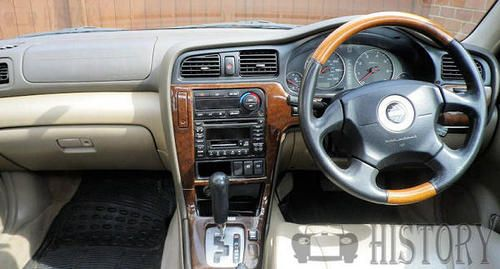 Subaru Outback Second generation dash view