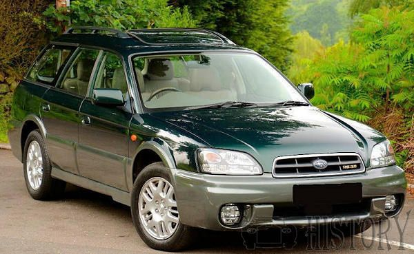 Subaru Outback Second generation range and history