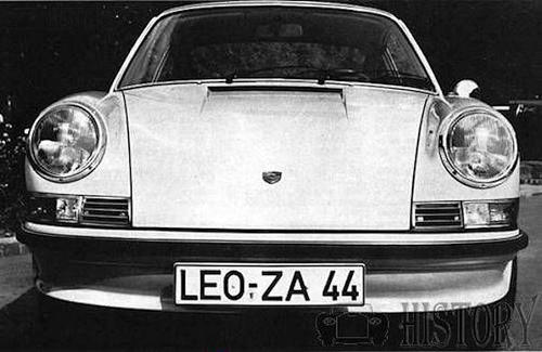 911 2.4-litre / E and F series (1971–1973)