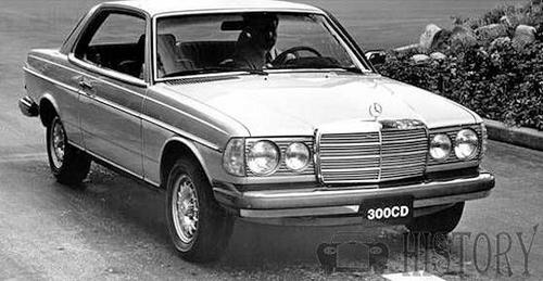 Mercedes-Benz W123 motor car history