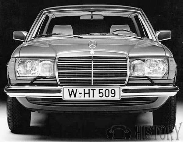 Mercedes-Benz W123 280CE front Late headlights