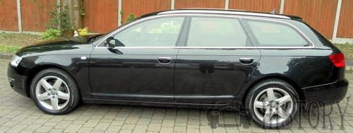 Audi A6 Third generation estate side view