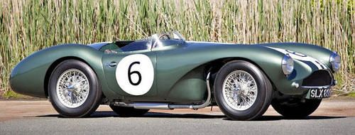 Aston Martin DB3S side view