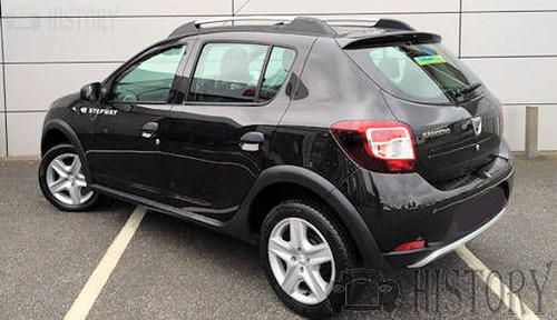 Dacia Sandero II stepway rear view