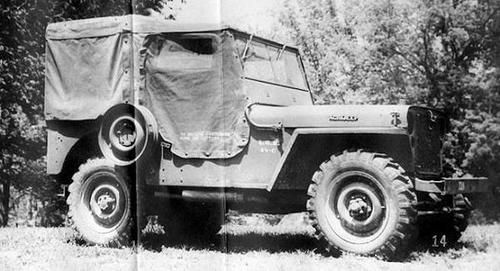 Jeep CJ 1 Willys Jeep history