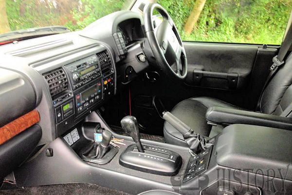 Land Rover Discovery Series 3 interior view