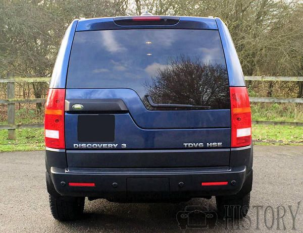 Land Rover Discovery Series 3 rear view