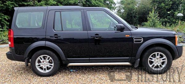Land Rover Discovery Series 3 side view