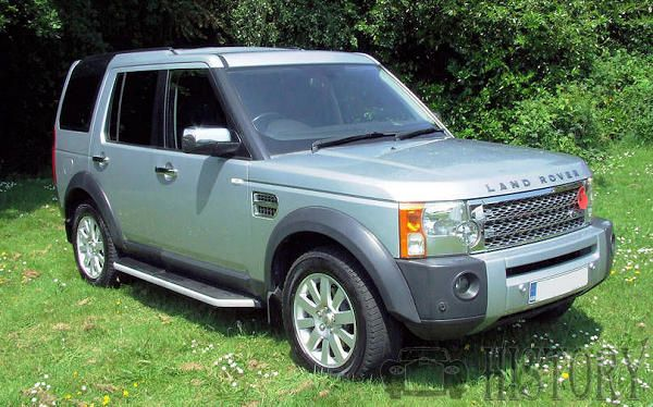 Land Rover Discovery Series 3 range and history