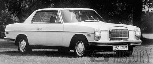 Mercedes-Benz 250 coupe 1969