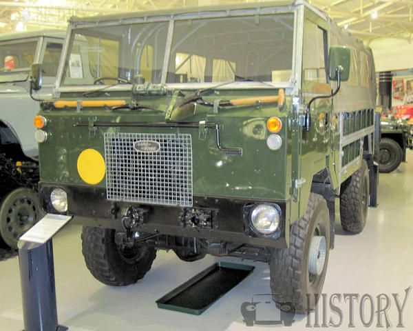 Land Rover 101 Forward Control history