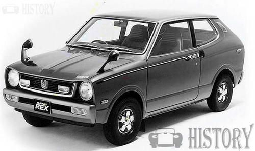 Subaru Subaru Rex 1st Gen 1972 1981