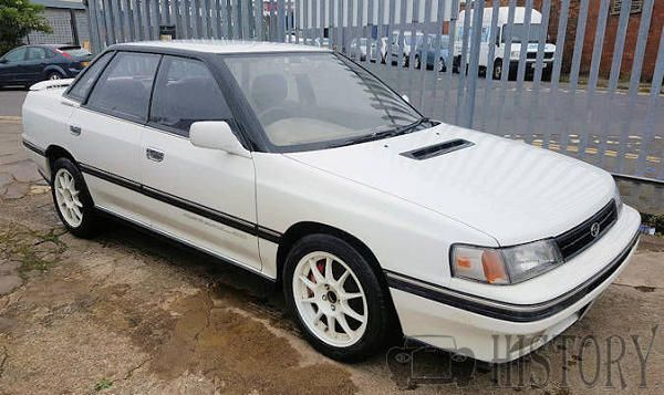 Subaru Legacy first generation history and range
