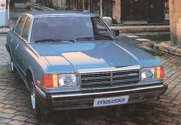 1980 mazda 929 facelift